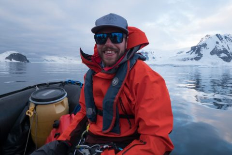 Grey Wolf The Captain in the Antarctic