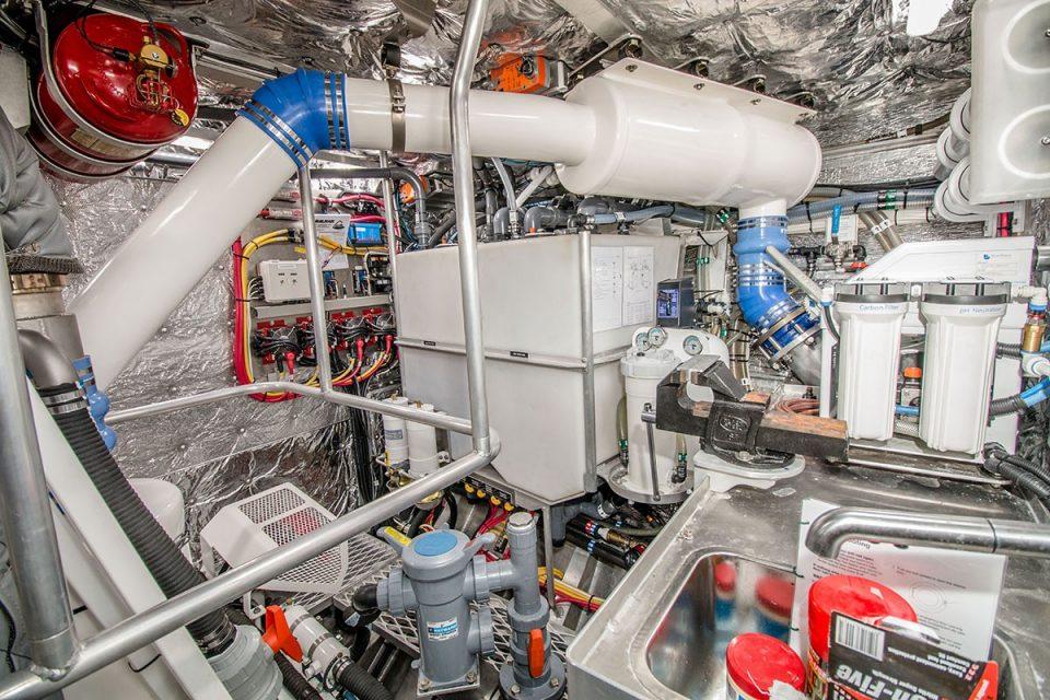 Grey Wolf Engine Room